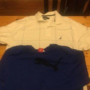 Nautica and sport lifestyle shirt